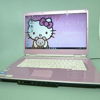 エヌイーシー(NEC)の人気ピンク色 NEC 最新win ブルーレイ 4G 320G office即使用(ノートPC)