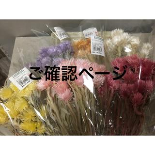 miumiu 0910様専用ページ(ドライフラワー)