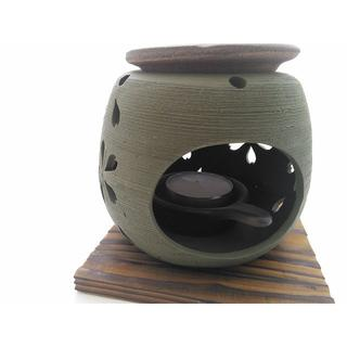 茶香炉 緑桜/常滑焼(雑貨)