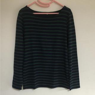 ムジルシリョウヒン(MUJI (無印良品))の値下げ❗️無印良品♡トップス(Tシャツ(長袖/七分))