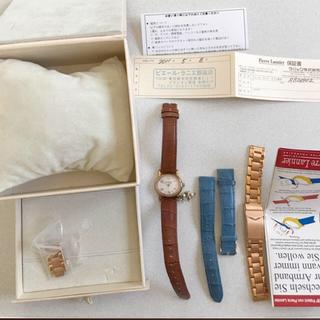 ピエールラニエ(Pierre Lannier)の♡ピエールラニエ美品腕時計替えベルト付き♡(腕時計)