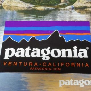 パタゴニア(patagonia)のパタゴニア patagonia 定番 ステッカー 黒(その他)