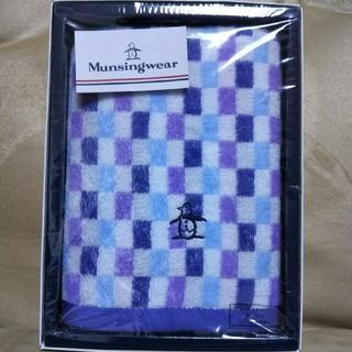 マンシングウェア(Munsingwear)のマンシングウェア  フェイスタオル 一枚(タオル/バス用品)