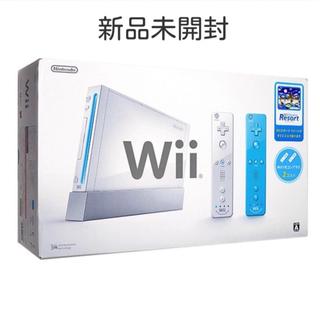 ウィー(Wii)の新品★任天堂 Wii 本体 リモコンプラス&リゾート同梱版★RVL-S-WABG(家庭用ゲーム本体)