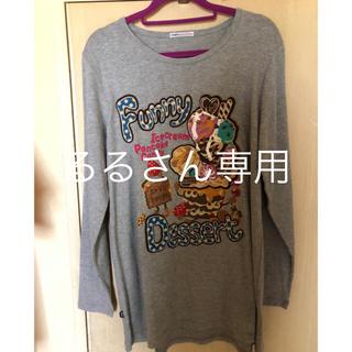 ラフ(rough)のrough Tシャツ 長袖 Funny Dessert(Tシャツ(長袖/七分))