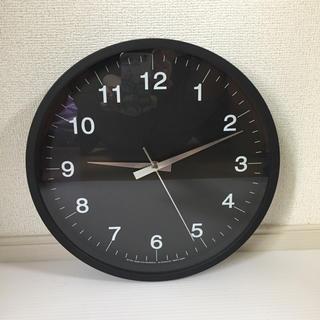 アクタス(ACTUS)のアクタス 掛け時計 ブラック(掛時計/柱時計)