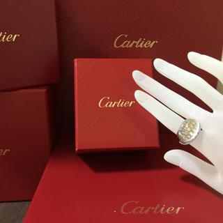 カルティエ(Cartier)のカルティエ ミストリング(リング(指輪))