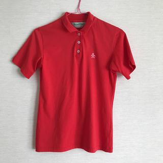 マンシングウェア(Munsingwear)の MUNSINGWEARレッドポロシャツ(ポロシャツ)