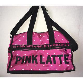 ピンクラテ(PINK-latte)のPINK LATTE バッグ(ボストンバッグ)