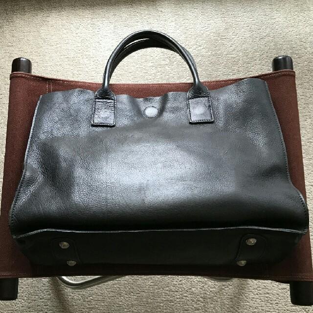 3bb0c27383a9 Orobianco(オロビアンコ)の黒 トートバッグ レザートート オロビアンコ シンプル Orobianco メンズのバッグ