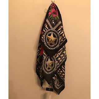ジバンシィ(GIVENCHY)のシバンシーシルクスカーフ☆新品タグ付き ラストプライス(ストール)