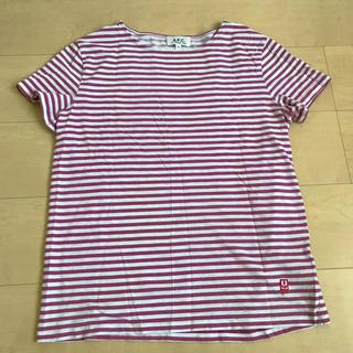 アーペーセー(A.P.C)のA.P.C. ボーダーTシャツ S(Tシャツ/カットソー(半袖/袖なし))