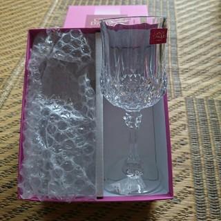 クリスタルダルク(Cristal D'Arques)のロンシャンクリスタルワイングラス(グラス/カップ)