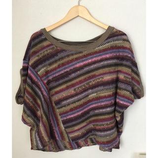ナンバージュウイチ(n゜11)のn°11 サマーニット(Tシャツ(半袖/袖なし))