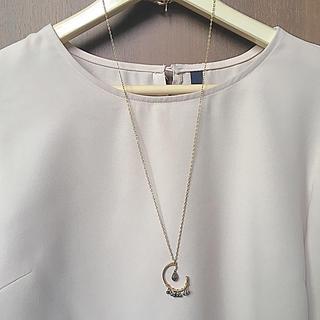 パピヨネ(PAPILLONNER)のchip様専用☆ひねりパーツロングネックレス (ネックレス)