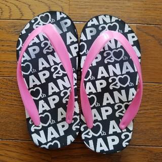 アナップキッズ(ANAP Kids)のANAPのビーチサンダル15~15.5cm(サンダル)