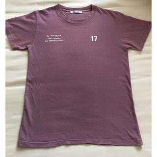 半袖Tシャツ ロゴ  バックプリント  袖プリント 染め