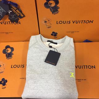 ルイヴィトン(LOUIS VUITTON)のソイジョイ様専用 国内正規品 ルイヴィトン  裏起毛 トレーナー スウェット(スウェット)