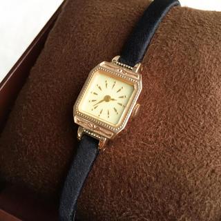 アガット(agete)の美品☆ 電池交換済み アガット K10 定価97200円 腕時計(腕時計)