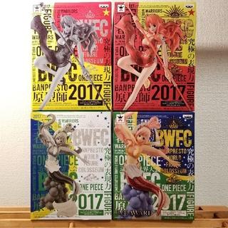 バンプレスト(BANPRESTO)のONE PIECE 造形王頂上決戦 vol.5しらほし姫 & vol.6ナミ(アニメ/ゲーム)