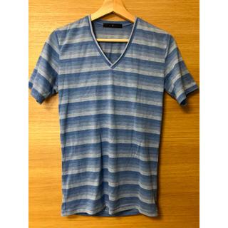 ザトゥエルヴ(THE TWELVE)のthe  twelve ボーダーTシャツ 46 (Tシャツ/カットソー(半袖/袖なし))