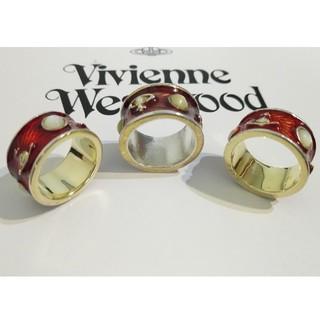 ヴィヴィアンウエストウッド(Vivienne Westwood)のhoney999さま専用  バラ売り可 確認用 購入可 キングリング赤 2つ(リング(指輪))