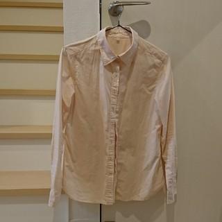 ムジルシリョウヒン(MUJI (無印良品))の無印✨コットン100% 薄ピンク(シャツ/ブラウス(長袖/七分))
