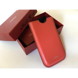 カルティエ(Cartier)のCartier カルティエ iPhone se case(iPhoneケース)