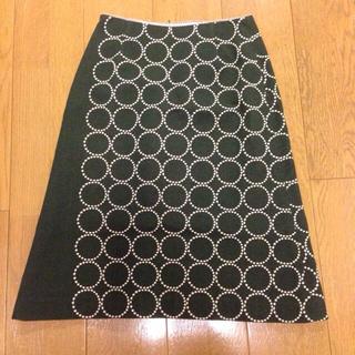 ミナペルホネン(mina perhonen)のミナペルホネン タンバリンスカート(ひざ丈スカート)