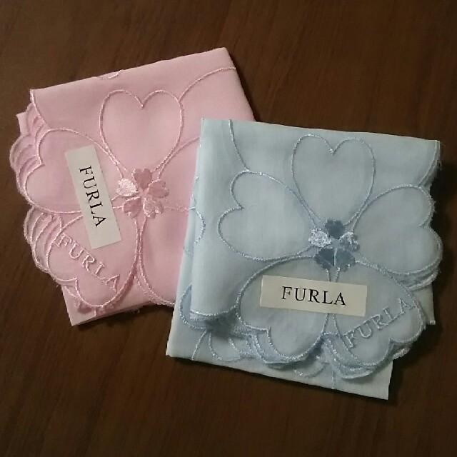 fe178b234a9d Furla - ニャンニャン様専用新品 FURLA フルラ ハンカチ 桜🌸 ハート♡の ...