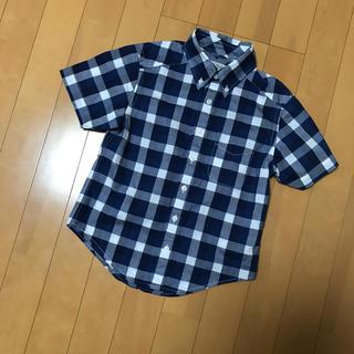 シマムラ(しまむら)のしまむら 120センチ ボタンダウンシャツ(ブラウス)