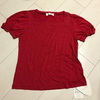 ジェーンマープル(JaneMarple)のジェーンマーブル  新品タグ付 お袖りぼんのカットソー(カットソー(半袖/袖なし))