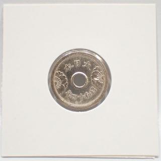 F81 古銭 1939年 昭和14年 5銭 硬貨 ホルダー(貨幣)