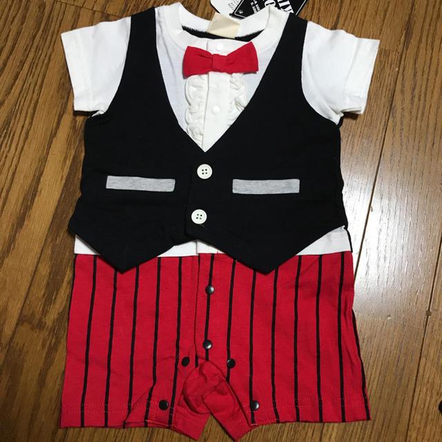 しまむら(シマムラ)の未使用タグ付き♡男の子カバーオール70cm キッズ/ベビー/マタニティのベビー服(~85cm)(カバーオール)の商品写真