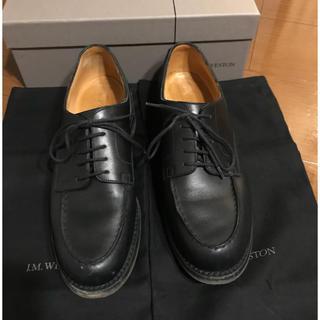 ジェーエムウエストン(J.M. WESTON)のj.m.weston  GOLF ブラック 6C 美品 ウエストン  ゴルフ(ドレス/ビジネス)