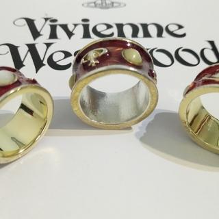 ヴィヴィアンウエストウッド(Vivienne Westwood)のahalfさま購入用 キングリング赤 ダメージありUSED品(リング(指輪))