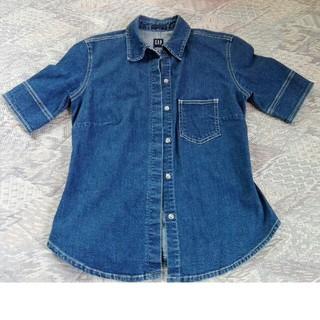ギャップ(GAP)のGap ギャップ デニムシャツ(シャツ/ブラウス(半袖/袖なし))
