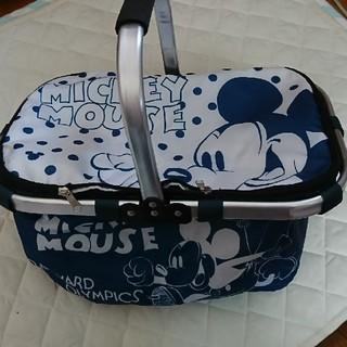 ディズニー(Disney)のミッキー アルミ 保冷 バスケット(バスケット/かご)