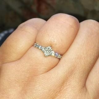 きーこ様専用♡プラチナ ダイヤモンド リング(リング(指輪))