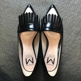 マミアン(MAMIAN)のフラットシューズ(ローファー/革靴)