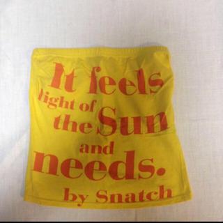 スナッチ(Snatch)のスナッチ ロゴ チューブトップ(ベアトップ/チューブトップ)
