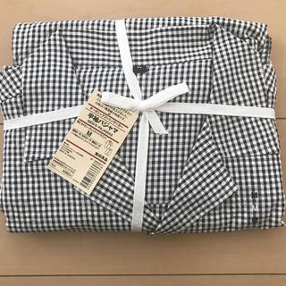 MUJI (無印良品) - 新品未開封 無印良品  メンズ オーガニックコットン半袖パジャマ M