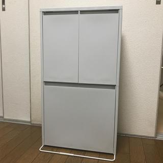 ムジルシリョウヒン(MUJI (無印良品))の無印良品 重ねて増やせるダストボックス ゴミ箱(ごみ箱)