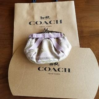 コーチ(COACH)のy様専用  COACH がま口コインケース 未使用(財布)