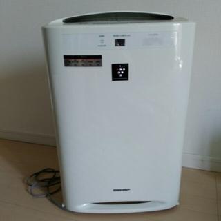 シャープ(SHARP)のSHARPシャープ プラズマクラスター 加湿空気清浄機 ホワイト オールシーズン(空気清浄器)