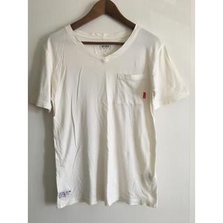 ダブルタップス(W)taps)のWTAPS Vネック Tシャツ tee S(Tシャツ/カットソー(半袖/袖なし))