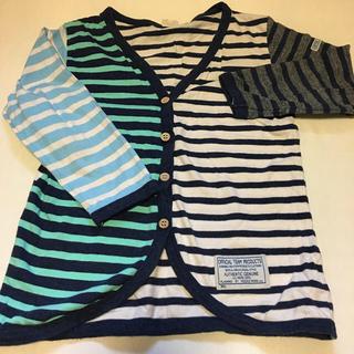 ニードルワークスーン(NEEDLE WORK SOON)のオフィシャルチーム 半袖Tシャツ120とカーディガン130のセット(カーディガン)