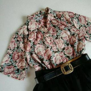 サンタモニカ(Santa Monica)のused クラシカルシャツ(シャツ/ブラウス(半袖/袖なし))