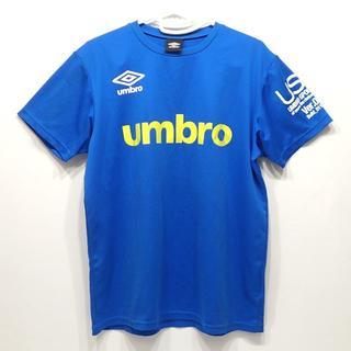 アンブロ(UMBRO)のA601 中古 アンブロ umbro ポリエステル Tシャツ 青(Tシャツ/カットソー(半袖/袖なし))