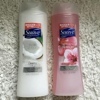 スアーヴ(Suave)のSuave ボディーウォッシュ  coconut  cherryblossom(ボディソープ / 石鹸)
